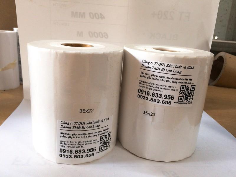 decal mã vạch dùng cho shop quần áo, siêu thị, nhà sách kích thước 35x22mm