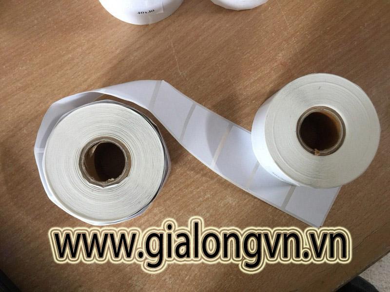 Giấy Decal Cảm Nhiệt 40×30( tem dán cốc trà sữa)